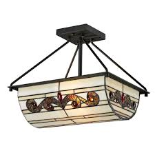 Flush Ceiling Light Fixtures Black Semi Flushmount Lights Ceiling Lights The Home Depot