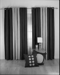 Black White Gray Curtains Smartness Black And White Curtains For Living Room Coffee Tables