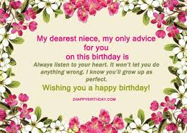 25 happy birthday niece sweet quotes u0026 messages 2happybirthday