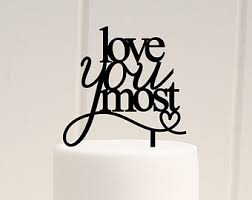 Christmas Cake Decorations B M by Wedding Cake Topper To The Moon And Back Wedding Cake Topper