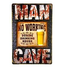 beer vintage tin metal signs home decor cafe bar wall sticker