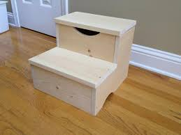 Free Wooden Step Stool Plans by Build Step Stool Storage Plans Diy Free Download Building A