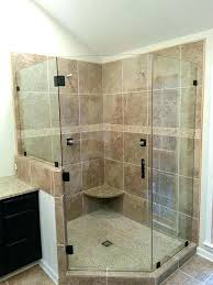 Glass Shower Doors Cost Frameless Shower Door Installation Cost Medium Size Of Bed Bath