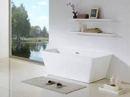 bellagio 58 x 28 white rectangle soaking bathtub by pacific