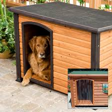 Precision Cabinet Doors by Precision Extreme Outback Log Cabin Dog House With Free Dog Door