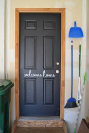 diy a welcoming garage door to the house home decor basement