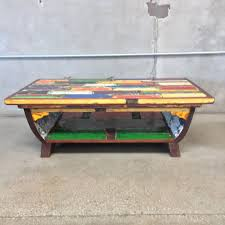 Reclaimed Boat Wood Furniture Coffee Table Made From Reclaimed Boat Wood U2013 Urbanamericana