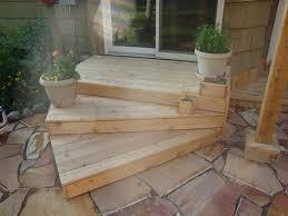 patio steps ideas