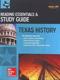 texas history reading essentials u0026 study guide student workbook