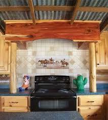 Mobile Home Kitchen Makeover - rustic cabin mobile home kitchen makeover home kitchens home