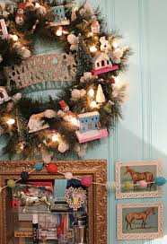 holiday home tour retro pastel office u2014 miss molly vintage