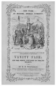 Various Television Vanity Cards Vanity Fair Novel Wikipedia