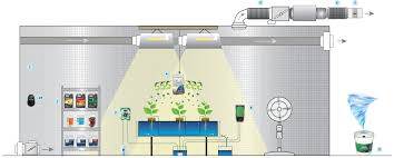 how to setup a hydroponic grow room easy grow ltd