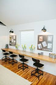 best 20 long desk ideas on pinterest basement office cheap