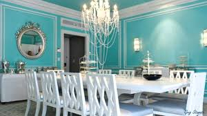 Dining Room Color Ideas Tiffany Blue Paint Color Design Ideas Youtube