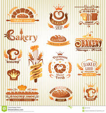 Bakery Design Floor Plan by Home Design Set Of Bakery Design Elements Royalty Free Stock