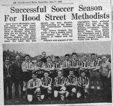 Lamb And Flag Southmoor League History Wearside Combination Football League