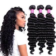 100 human hair extensions vrvogue wave 3 bundles 100 human hair