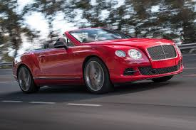 bentley red convertible 2013 bentley continental gt speed convertible review and pictures