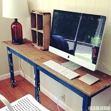 Narrow Computer Desks For Home Narrow Desk Amazing Narrow Computer Desk Home Projects