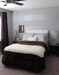 Accent Wall Wallpaper Bedroom Tone On Tone Striped Accent Wall Mrs And The Misc