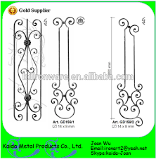 Decorative Iron Railing Panels Wrought Iron Scroll Railing Panels For Stairs Fence Buy Wrought