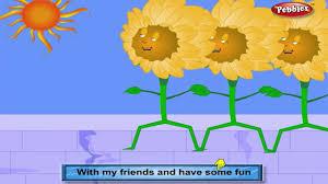 dahlia rhyme flower rhymes for children nursery rhymes for