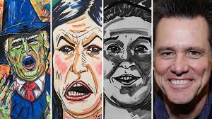 Image Gallery Controversial Paintings - jim carrey s latest controversial painting goes after mark