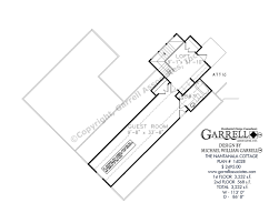 house plans with guest house nantahala cottage 3232 house plan house plans by garrell