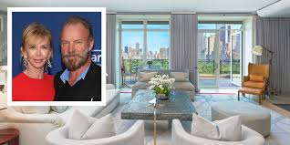 sting and trudie styler new york city apartment sting trudie