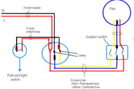 fan isolator pull switch wiring diagram wiring diagram