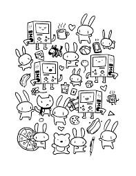 quality doodles by kyle ruby coloring page art doodle and draw