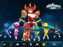 power rangers dash game mighty morphin dino charge