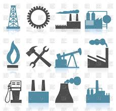 Industrial Theme by Set Of Theme Industry Icons Vector Image 80432 U2013 Rfclipart
