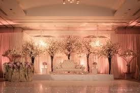 wedding backdrop on stage asian wedding stage pinteres