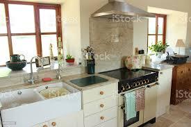kitchen cabinet doors belfast country kitchen shaker doors belfast sink gas rangecooker stock photo image now
