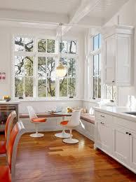bright u0026amp fresh 1950s mod breakfast nook in historic sonoma