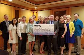 findlay lexus las vegas findlay automotive makes donation to foundation for independent