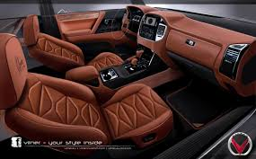 mitsubishi pajero gets a revised interior from vilner ultimate