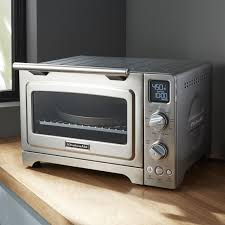 kitchenaid toaster oven kitchenaid convection contertop oven crate and barrel