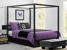 white full canopy bed by dhp u2014 modern storage twin bed design