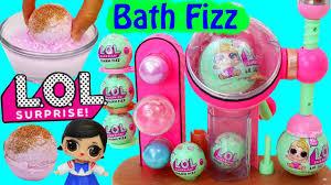 lol bath bomb maker diy fizz bath balls new lol dolls playset