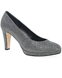 Shoo Hg grey heels shoes simply be