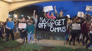 virginia tech students protest and march against white supremacy