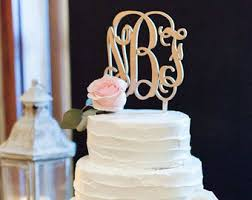 monogram cake toppers plain decoration monogram cake toppers for weddings winsome ideas