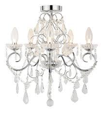 5 light ip44 rated chandelier amazon co uk lighting