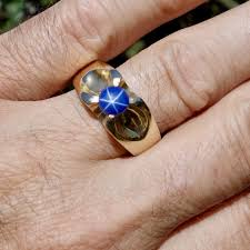 grandidierite engagement ring star sapphire chateau peridot