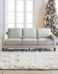 Narrow Leather Sofa Camden Sectional With Track Arm Mid Century Modern Pinterest