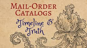 mail order catalogs timeline and kristin holt