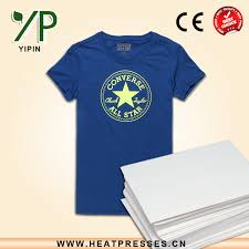 a4 a3 size pigment ink t shirt transfer paper for 100 cotton